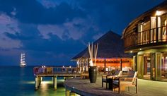 Coco Palm Bodu Hithi: Dine on Maldivian cuisine and sip hand-crafted cocktails at Stars Restaurant.