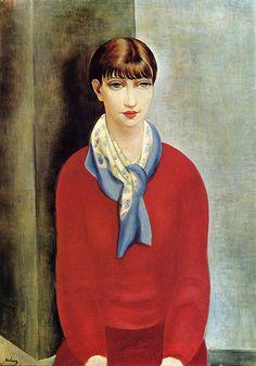Moise Kisling, Kiki de Montparnasse, 1925.