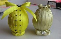 Изготовление и оформление подарочных Пасхальных яиц