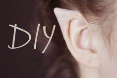DIY Elf Ears + How to Apply