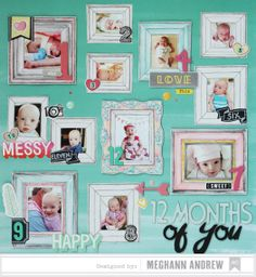 *American Crafts* 12 Months of You by meghannandrew at @Studio_Calico