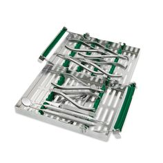Ortho ArchWire Adjustment Procedural Set-Up   W/ Double Decker 20 Instrument Orthodontic Cassette