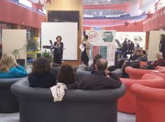 L'intervento della dottoressa Scerrino, in rappresentanza della Camera di commercio di Palermo.