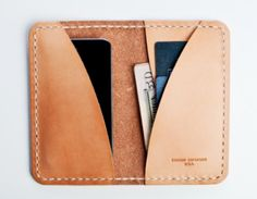 there's something kind of great about putting the latest technology in a wallet that's designed to show its age.