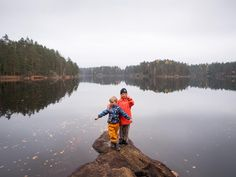 I do guided hiking tours to Nuuksio National Park, and I love seeing kids in nature, so I decided to make it easier and cheaper for you to take them with you. Hiking Tours, Self Discovery, Helsinki, Finland, National Parks, Children, Nature, Travel, Young Children
