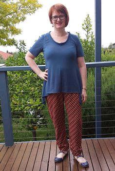 lola style arc pant  crafty mamas lovely layers tunic top