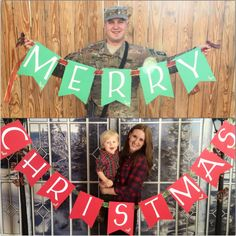 Christmas card, deployment.