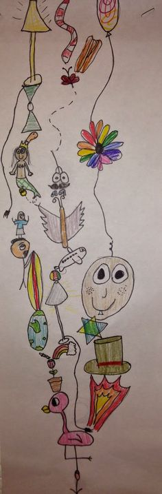 Art Room Blog: 5th Grade Balancing Act...