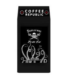 Skallywag Pirate Tar. Pirate Coffee