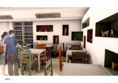 Knossos Refreshment Cafe, Creta, GR by Natalia Nikolopoulou, via Behance