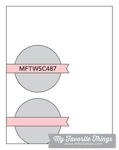 Wednesday Sketch Challenge - Card Sketch 487 – MFT Stamps Scrapbook Sketches, Card Sketches, Panda Images, Mft Stamps, Card Patterns, Stencil Designs, Card Templates, Your Cards, I Card