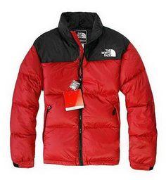 e428bd14c1 North Face Homme Nuptse Rouge Veste North Face Hoodie, North Face Ski Jacket,  North