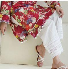 dresses for winter Tunic Designs, Dress Neck Designs, Salwar Designs, Kurti Designs Party Wear, Stylish Dresses For Girls, Stylish Dress Designs, Designs For Dresses, Pakistani Dresses Casual, Pakistani Dress Design