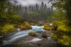 River by HalfdanHallseth. Please Like http://fb.me/go4photos and Follow @go4fotos Thank You. :-)