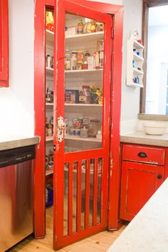 Screen Door Pantry Design Ideas, Pictures, Remodel, and Decor - page 2