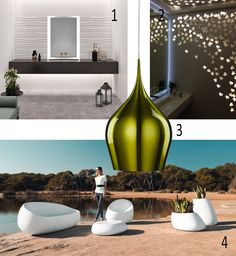 Isabel's Picks for Spring 2018 WHITE IS THE LIGHT Feel it inside and outside Revigres, Wave, Vitrified ceramic tile with texture, bplan, portugal, Panels cut, aluminium, stainless steel, inox steel, stainless steel corten, green bell pendant light, lumina.ie, Vondom, Stefano Giovannoni & Elisa Gargan, outdoor furniture and planters, Stones collection, Fruugo. Tile Manufacturers, Decorative Panels, Portugal, Planters, Stones, Waves, Stainless Steel, Amp, Ceiling Lights