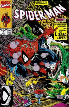 Spider-Man 4 Novemver 1990 Issue Marvel Comics by ViewObscura