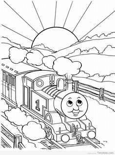 238 best kiddies coloring pages images in 2019 coloring books Grand Theft Auto 4 Cheats Tank get the printable thomas the train coloring pages that are from a tv cartoon series based on a book railway series your kid will be excited to color them