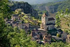 Les artisans de Saint-Cirq-Lapopie : Les plus beaux villages perchés de France - Linternaute