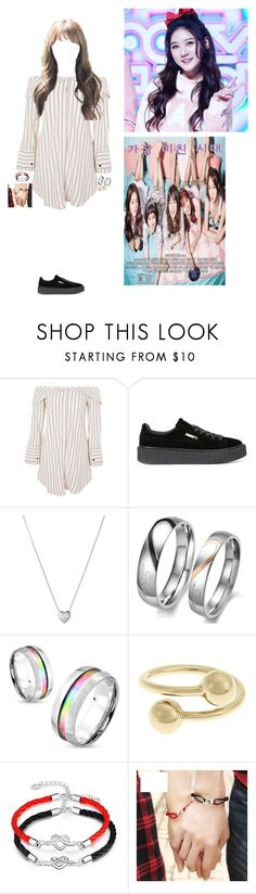 """""""Audition for Age of Crazy~Luna"""" by luna-from-dna ❤ liked on Polyvore featuring Topshop, Puma, Links of London, West Coast Jewelry and J.W. Anderson"""