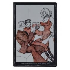 Tom of Finland Magnet Big Tits. High-quality refrigerator magnet with dimensions cm - inch.Brand: Tom of Finland Pride Products, Tom Of Finland, Gay Pride, Toms, Big, Pride