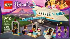 LEGO Friends_41100_Heartlake Private Jet_New Sealed Set(Unopened)_Free Shipping #LEGO