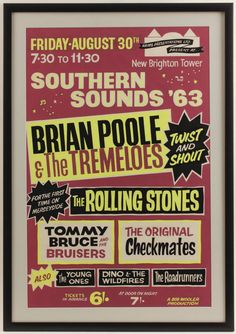 Tremeloes, Rolling Stones