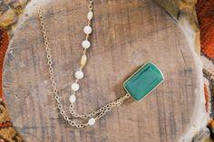 ExVoto Vintage Jewelry Jade Necklace #limitededition #vintage #vintagejewelry #jade #jadenecklace #vintagenecklace #vintagebeads #madeinusa