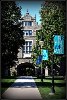 Bryn Mawr College...how I miss the arches.