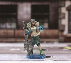 I paint to think: Ivy's Proxy - Zombicide Kickstarter Exclusive survivor proxy miniature