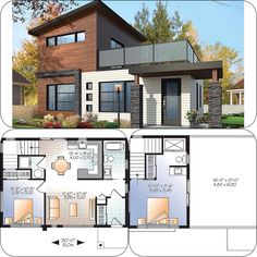 Nearest floor plan to what i want Sims 4 House Plans, Sims 4 House Building, Cabin House Plans, Dream House Plans, Sims 4 Houses Layout, House Layouts, Sims 4 House Design, Modern House Design, Small Modern House Plans