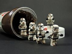 Lego  Stormtroopers and Nutella