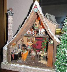 Karin Caspar's Troll Christmas House