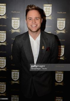 Singer Olly Murs attends the official launch to mark the FA's 150th Anniversary Year at the Grand Connaught Rooms on January 16, 2013 in London, England.