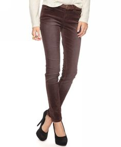 Forever 21 Skinny Corduroy Pants $19.80 #fashion #outfit #clothes #women #pants #skinny #brown #winter #stylish #style #forever21 #chic #everyday #school #office