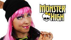 Howleen Wolf - Monster High Makeup Tutorial