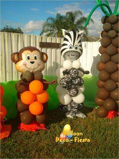 Monkey y zebra