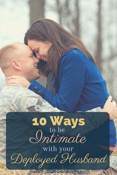 "It is SO possible to continue to grow closer and more intimate with your deployed spouse when God is at the center of your marriage! I'm no longer letting deployment push the ""pause button"" on my marriage."