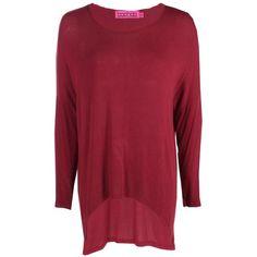 Boohoo Sophia Oversized Jumper | Boohoo (38 BRL) ❤ liked on Polyvore featuring tops, sweaters, oversized turtleneck sweaters, red turtleneck sweater, wrap sweater, red oversized sweater and chunky turtleneck sweater
