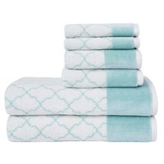 Shop for LOFT by Loftex Lattice Luxe 6-Piece Towel Set. Ships To Canada at Overstock.ca - Your Online Bath & Towels Destination!  - 23225468