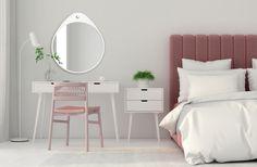 #lustro #stylskandynawski #lustra #okrągłelustro #mirror #białarama #biel #sypialnia #toaletka #lustrodosypialni Large Wall Decals, Flower Wall Decals, Removable Wall Decals, Wall Stickers, Floral Wall, Oslo, Adhesive, Room, Forget