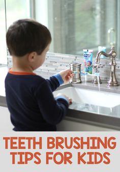 5 Teeth Brushing Tips for Kids