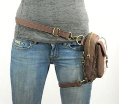 Holster Pack- Thigh Holster  I think I can diy this