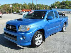 Blue Toyota Tacoma X-Runner