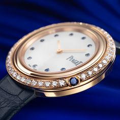 A mutual passion for finesse and fine craftsmanship results in a new highlight. News Highlights, Rolex Watches, Passion, Blue, Stuff To Buy, Accessories