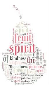 Fruits of the Spirit Word Cloud