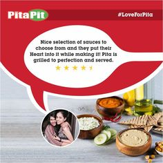 It's an honor for us to hear such a tremendous review from one of our loyal customers. More details: http://www.zoma.to/OAwlBn #LoveForPita
