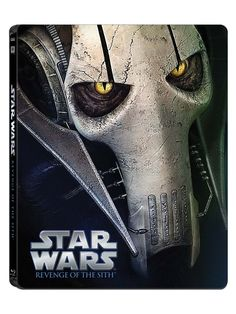 The STAR WARS Saga Gets The Blu-ray Steelbook Treatment This November--Episode III: Revenge of the Sith.