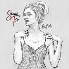Sabrina Faye... Hand Drawing