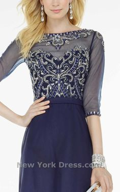 Radiate your ravishing esprit in this bellissima evening gown from Black Label by Alyce 5742 Paris. The translucent bodice boasts a sheer mystique along the